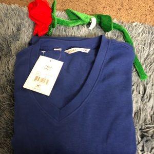 NWT Cutter & Buck blue sweater pullover size XL💙